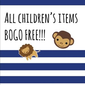 ADDITIONAL DISCOUNT ALL KIDS ITEMS BOGO